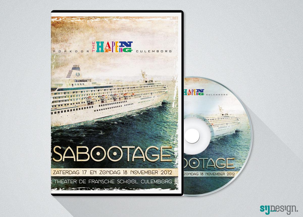 Sij Design_Muziek_Sabootage