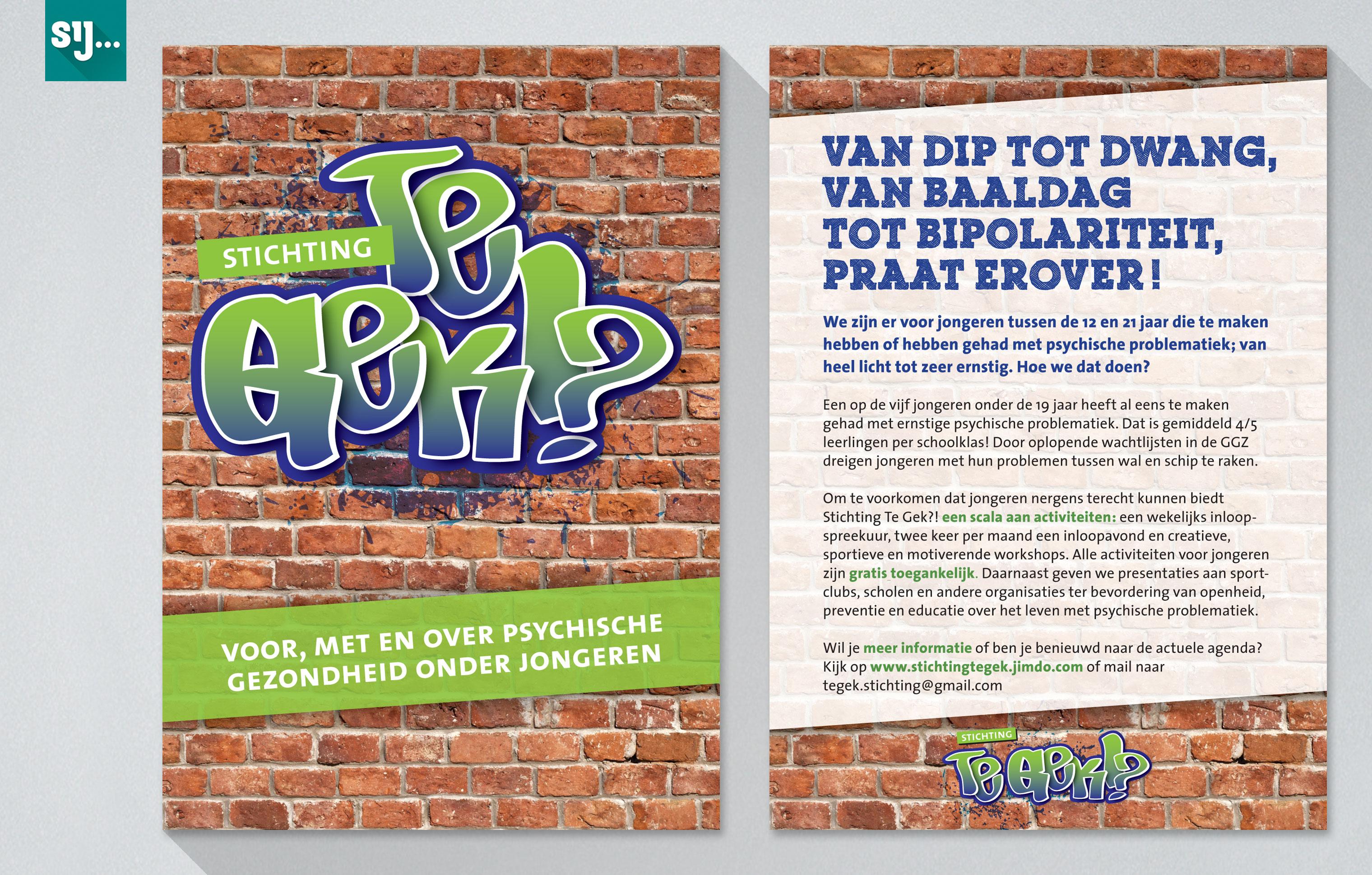 Sij Design_Folders_Stichting Te Gek