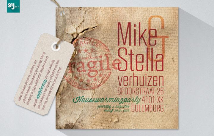 Sij Design_Kaarten_Mike Stella Verhuizen_Front
