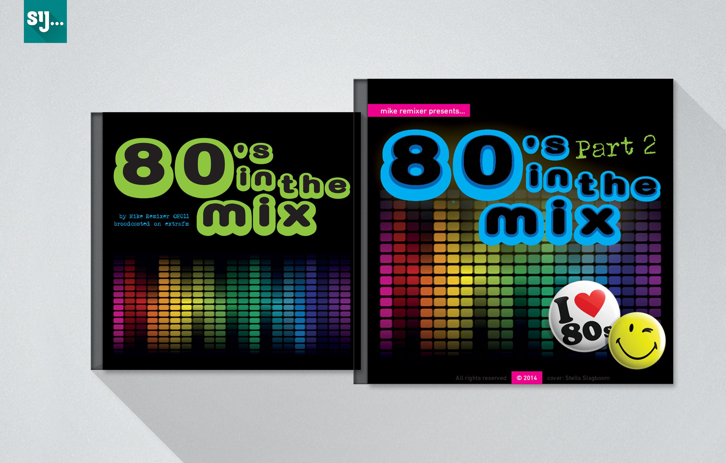 Sij Design_Muziek_80s in the Mix