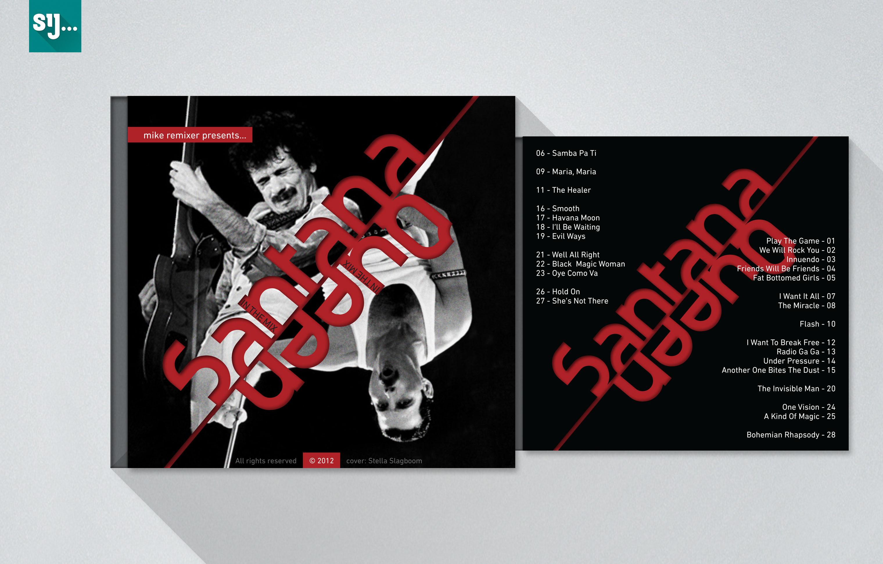 Sij Design_Muziek_Queen Santana Mix