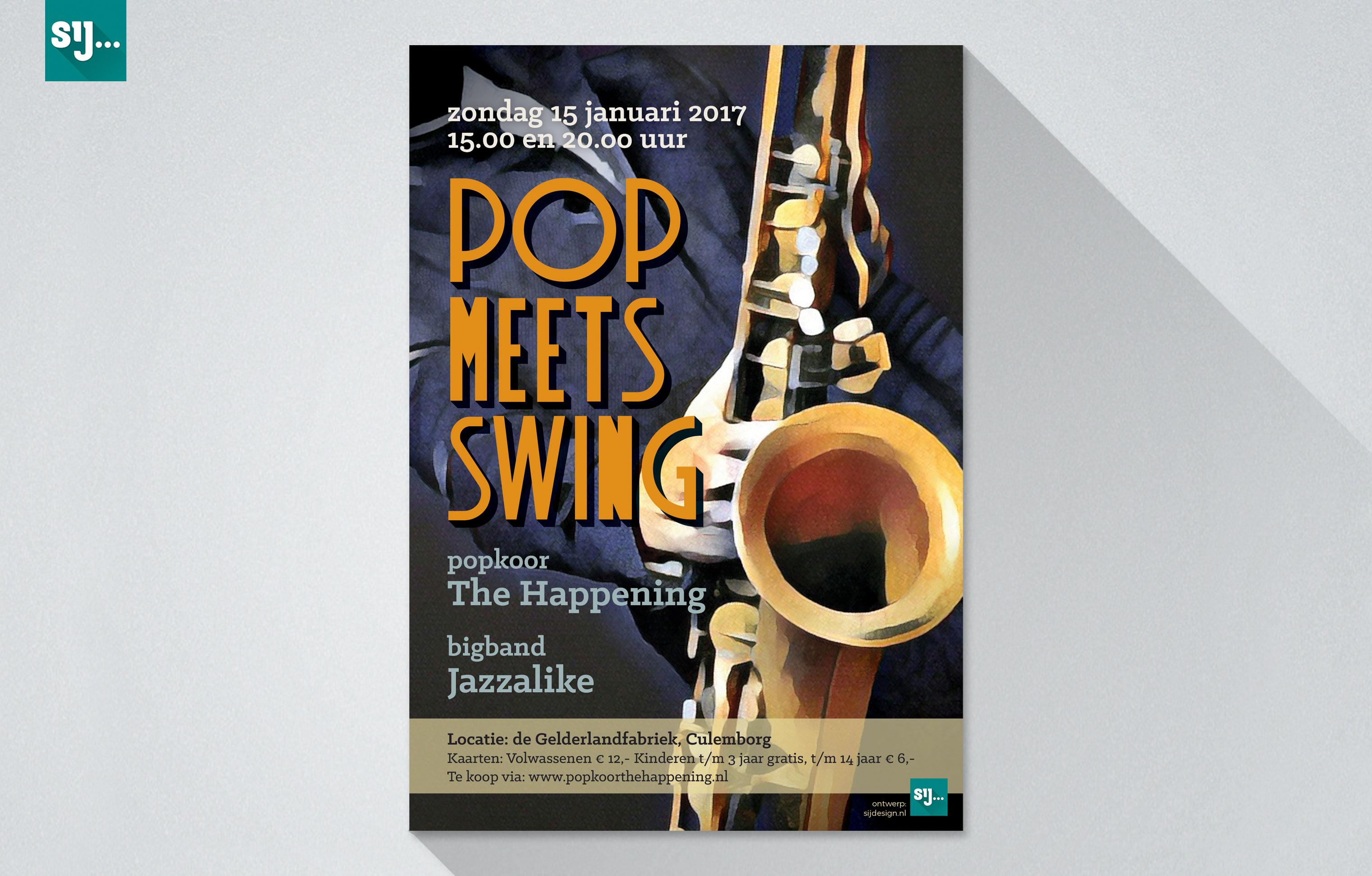 Sij Design_Posters_Pop meets Swing